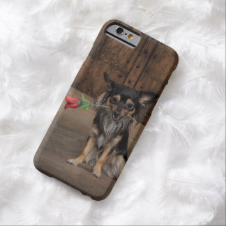 Chihuahua - rose barely there iPhone 6 case