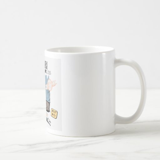 Chihuahua Security Alarm Funny New Invention Coffee Mug