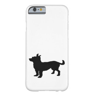 Chihuahua Silhouette Barely There iPhone 6 Case