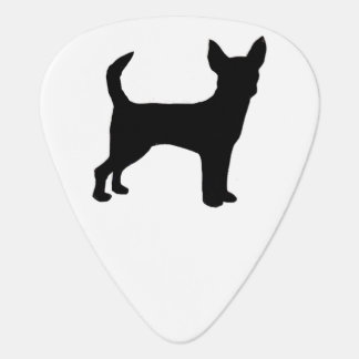 Chihuahua silo black.png guitar pick