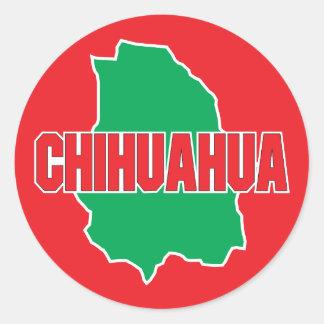 Chihuahua State Classic Round Sticker