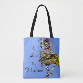 Chihuahua Tote Bag (You can Customize)