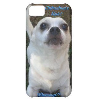 Chihuahua Whazzup? iPhone 5 case