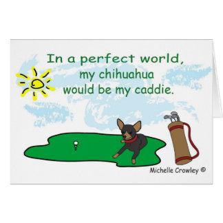 ChihuahuaBlkTan Greeting Cards