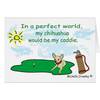 ChihuahuaFawn Greeting Card