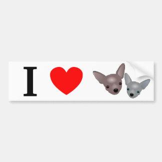 Chihuahuas Bumper Sticker