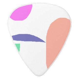 Chikatetsu Subway White Delrin Guitar Pick