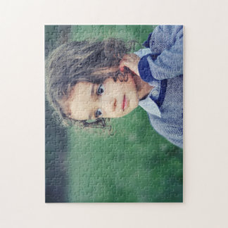 Child 11x14 Photo Puzzle with Gift Box