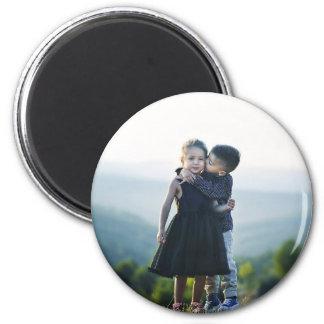 child 2 inch round magnet