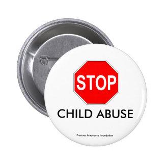 CHILD ABUSE 2 INCH ROUND BUTTON
