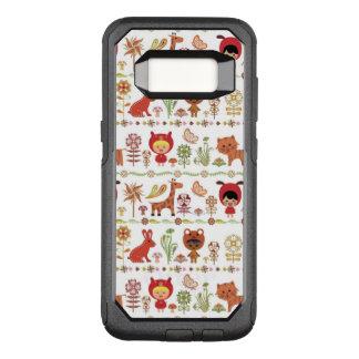 Child and Animals Pattern OtterBox Commuter Samsung Galaxy S8 Case