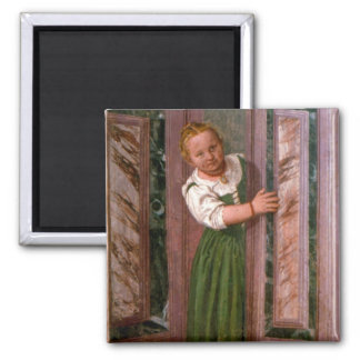 Child at the Door, from the Sala a Crociera, c.156 Magnet