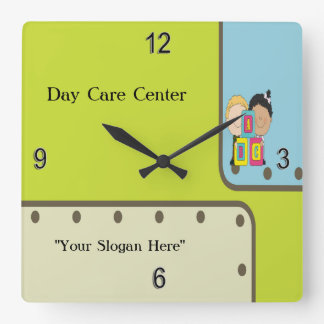 Child Care ABC Kids Wall Clock