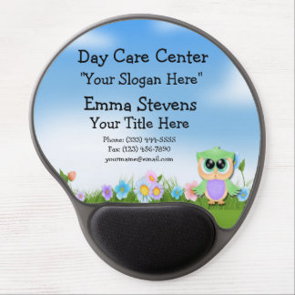 Child Care Baby Owl Gel Mouse Pad