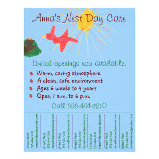 daycare flyers