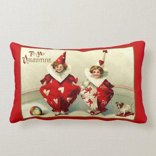 Child Clowns Lumbar Pillow