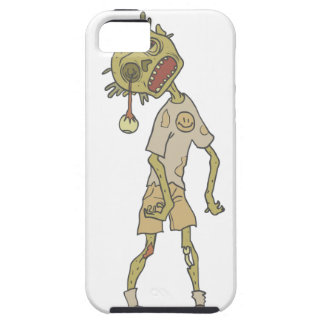 Child Creepy Zombie With Rotting Flesh Outlined Case For The iPhone 5