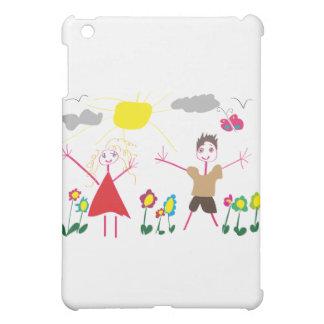 Child draw iPad mini case