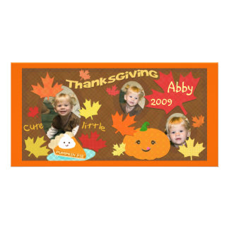 Child / Family Thanksgiving  Photo Card
