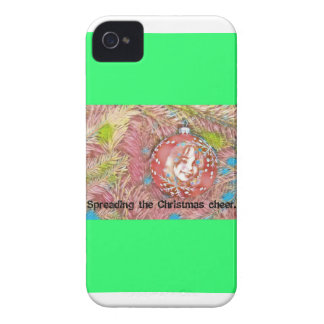 Child In Christmas Ornament Painting Case-Mate iPhone 4 Cases