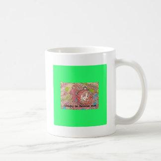 Child In Christmas Ornament Painting Coffee Mug
