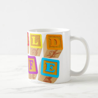 Child Life Blocks mug