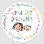 Child Life Stickers