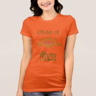 Child of Athena Owl Demigod Greek Mythology T-Shirt