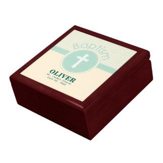 Child of God Baptism, Gender Neutral Green Gift Box