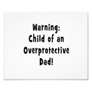 child of overprotective dad black photo art