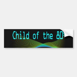 Child of the 80s Numper Sticker Bumper Sticker