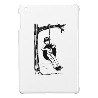 Child on Tire Swing iPad Mini Covers