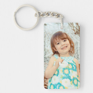 Child Photo Keepsake Keychain