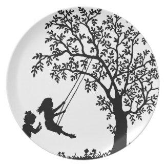 Child play dinner plates