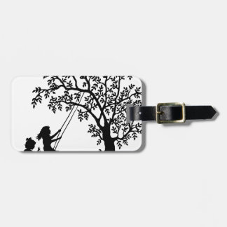 Child play luggage tag