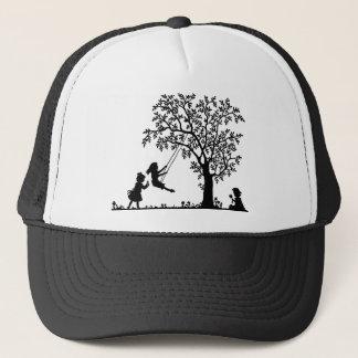 Child play trucker hat