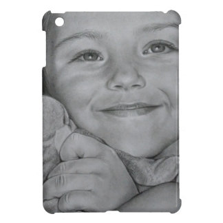 Child portrait cover for the iPad mini