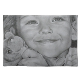 Child portrait placemat