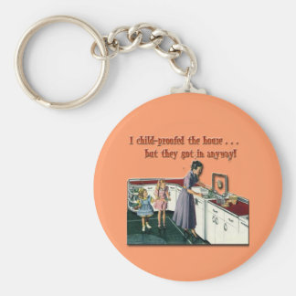Child-proof House Keychain