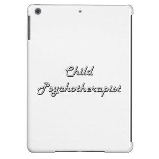 Child Psychotherapist Classic Job Design Cover For iPad Air