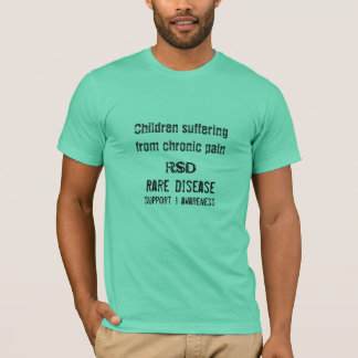 Child, RSD, Rare Disease, support T-Shirt