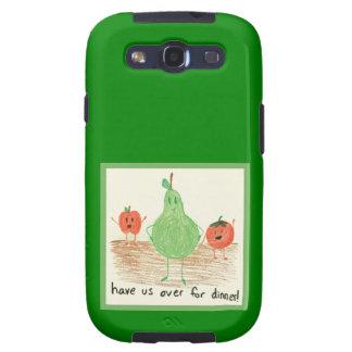 Child s Art Green Samsung Galaxy S3 Cover