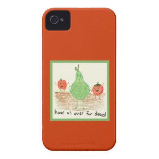 Child s Art Red iPhone 4 Case