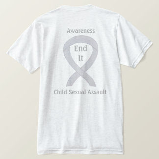 Child Sexual Assault Awareness Ribbon T-Shirts