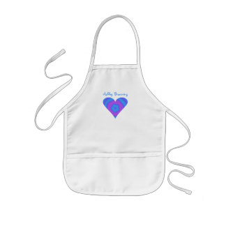 Child Size Personalized Heart Apron
