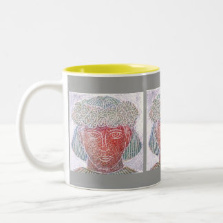 Child Warrior Two-Tone Coffee Mug