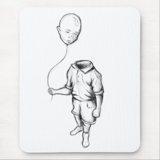 Child with a balloon Mouse pad