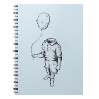 Child with a balloon Notebook