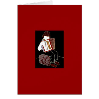 Child With Accordion Card