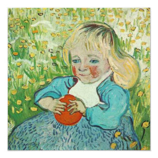 Child with an Orange by Vincent van Gogh * Card